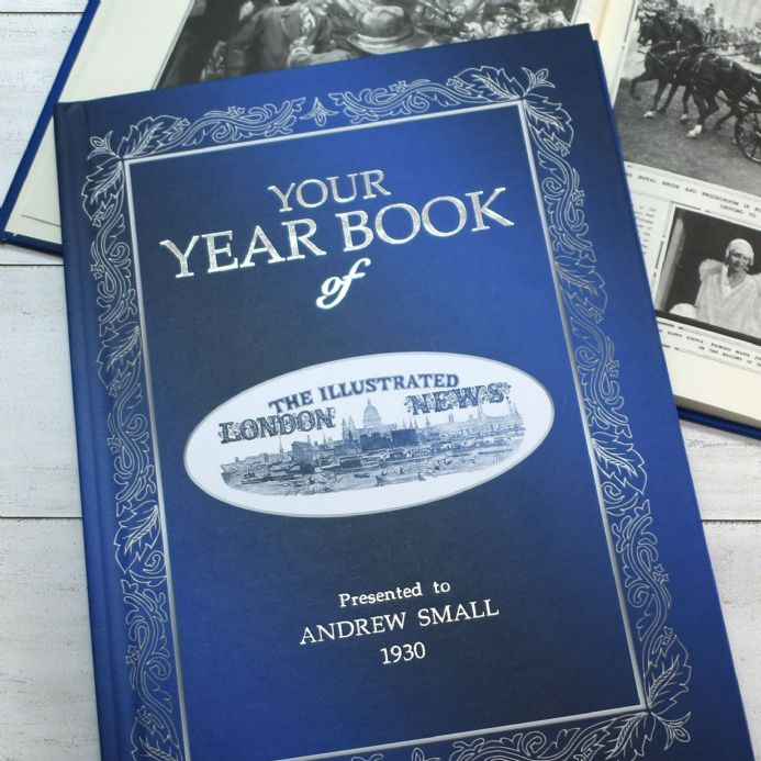 Illustrated London News Year Book  - Choose your Year.. and Personalise !